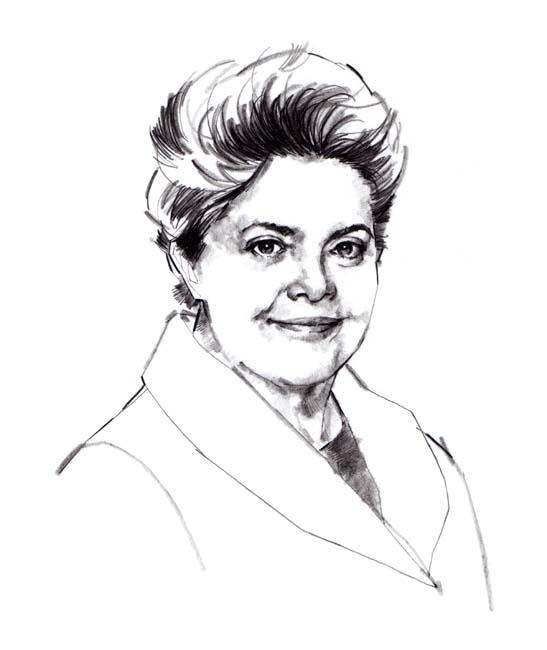 Assinatura da presidenta Dilma Roussef