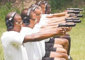 treinamento de tiro